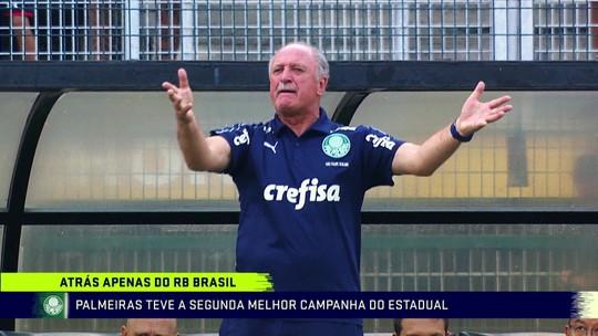 Raio X dos treinadores: Felipão tem 74% de aproveitamento no Palmeiras em 2019