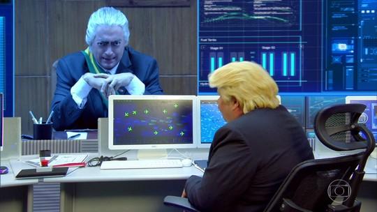 Kim Jong-un e Trump vs. Brasil