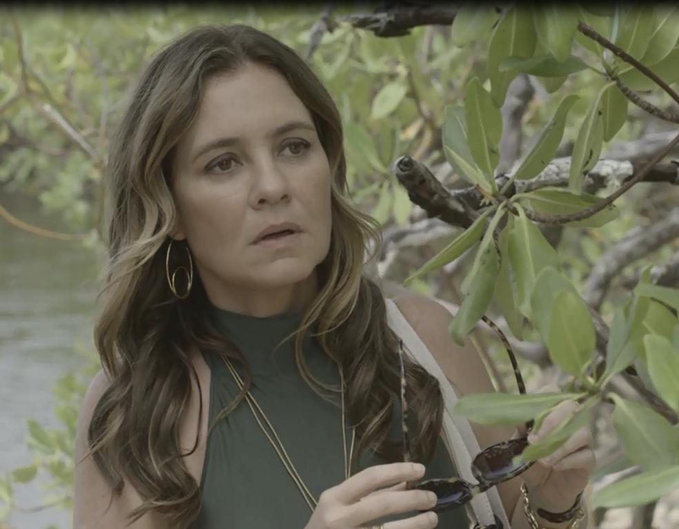 Laureta chega em Boiporã e descobre que Beto está vivo (Foto: TV Globo)