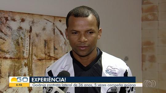 Com goleiro Márcio e lateral-direito Vítor, Goiânia apresenta elenco e inicia pré-temporada