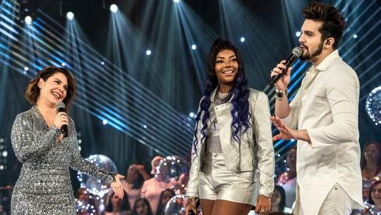 Ludmilla diz que 2018 foi o melhor ano de sua vida e canta hit no 'Só Toca Top'
