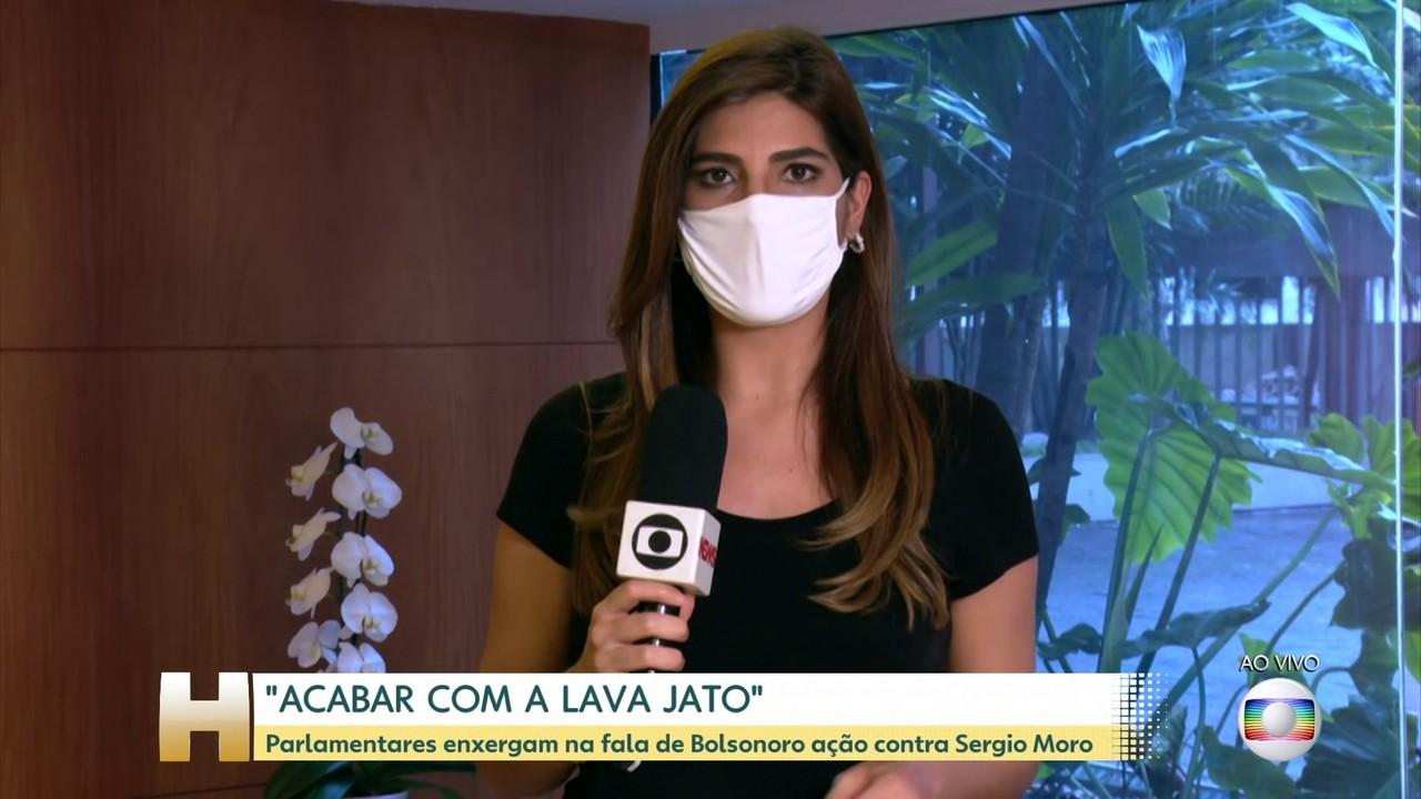 Fala de Bolsonaro sobre Lava Jato faz parte de operação para 'apagar' Moro para 2022