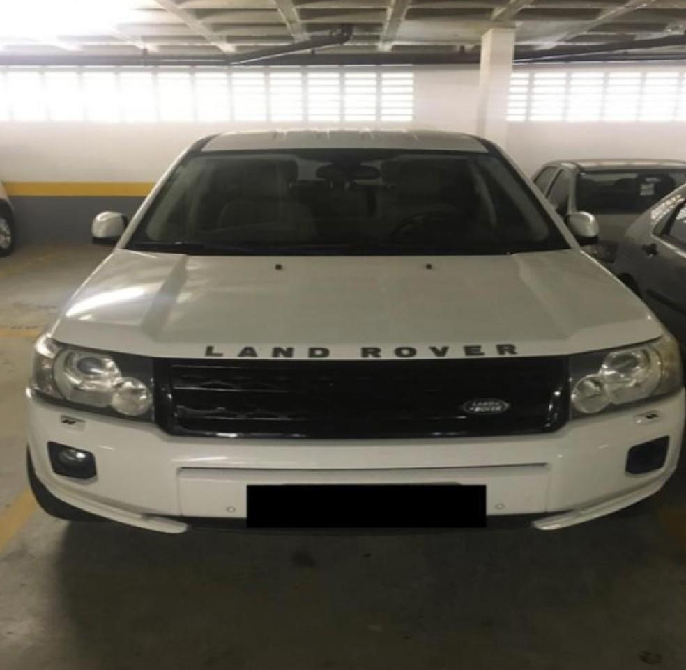 Carro de luxo usado pelo crime organizado em SP — Foto: Divulgação/MP-SP