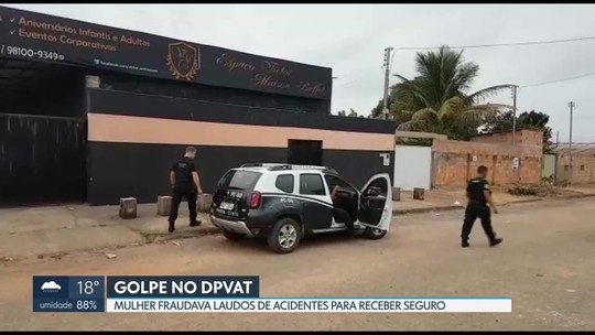 Mulher de 41 anos é presa suspeita de fraudar seguro DPVAT