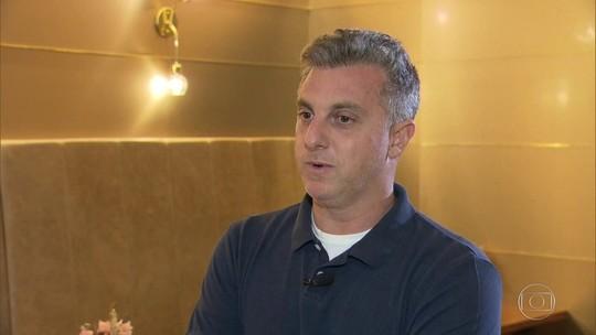 Huck fala sobre recuperação do filho: 'Um passinho de cada vez'