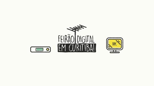Feirão Digital vai oferecer antenas e conversores por preços especiais, em Curitiba