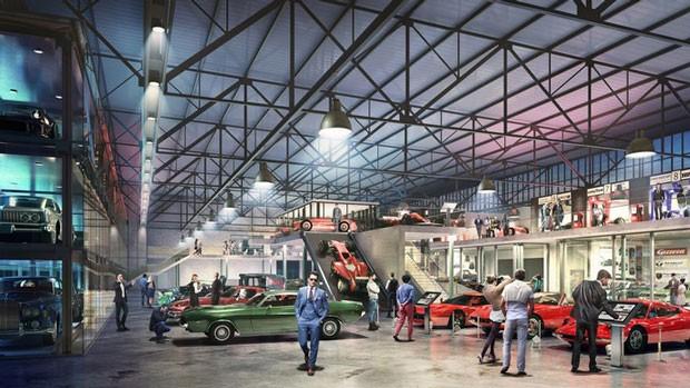 Prévia de como será o Museu do Schumacher (Foto: Divulgação)