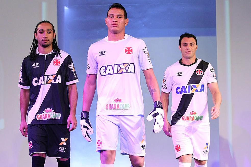 Banco estatal patrocinou o Vasco até o final de 2017 — Foto: Marcelo Sadio /Vasco.com.br
