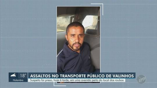 PM prende suspeito de assaltar ônibus em Valinhos com talher de churrasco e cavalo marinho de cerâmica