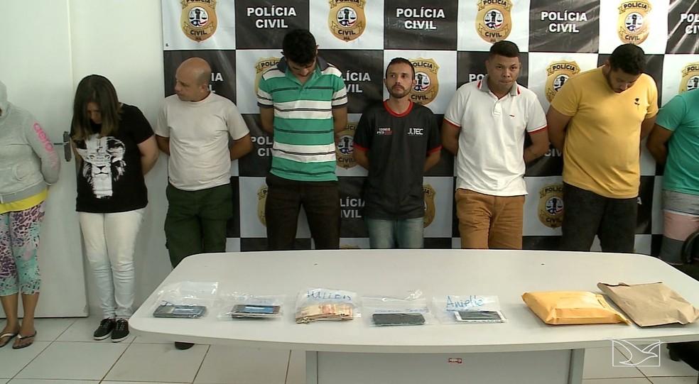 Polícia prende quadrilha que clonava aplicativo de celular de prefeitos no Maranhão — Foto: Reprodução/TV Mirante
