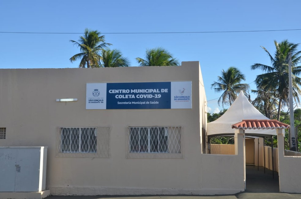 Centro de Coleta Covid-19 de São Gonçalo do Amarante é alvo de criminosos — Foto: Divulgação