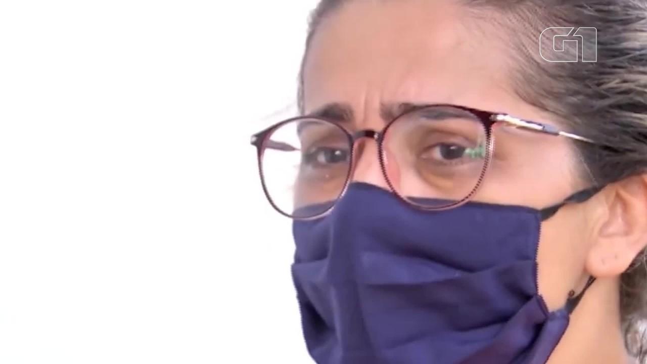 VÍDEO: Esposa de homem que desapareceu em alto mar diz que marido relatou 'muito temporal'