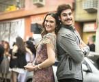 'O tempo não para': Marocas (Juliana Paiva) e Samuca (Nicolas Prattes) | Globo/João Miguel Júnior