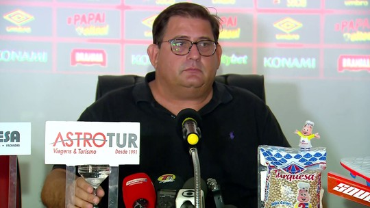 """Guto Ferreira abre as portas para Diego Souza no Sport: """"Se adequando, é bem-vindo"""""""