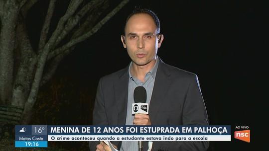 Homem é preso suspeito de estuprar adolescente em Palhoça
