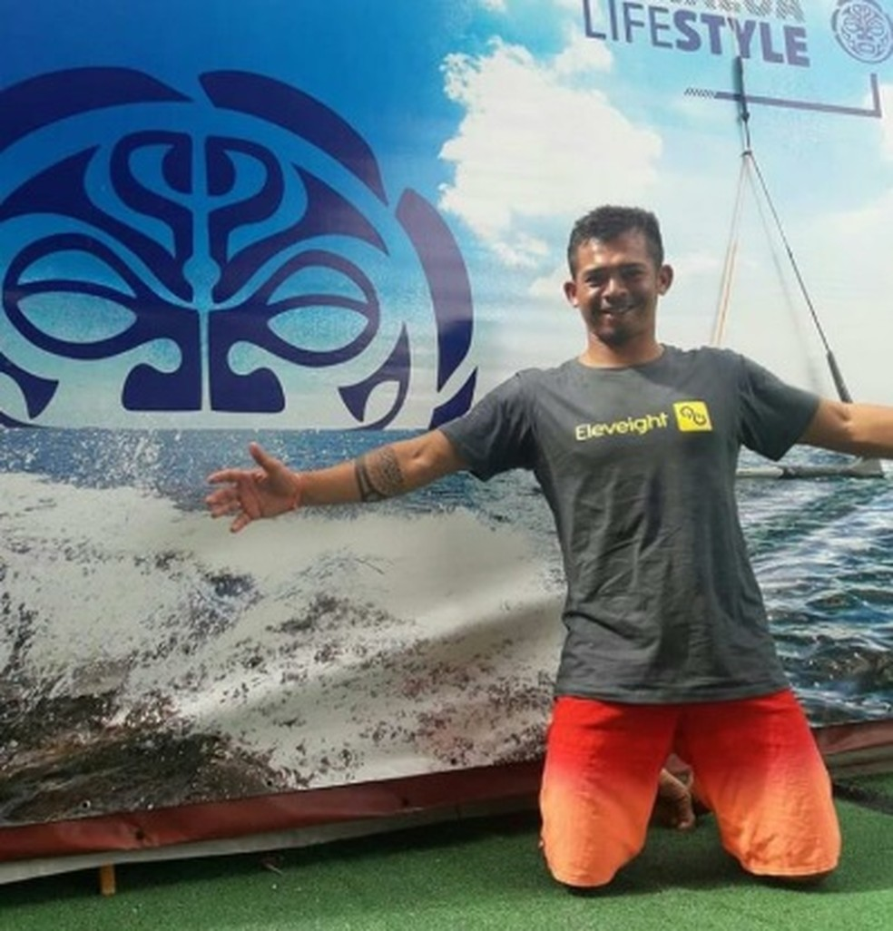 Kitesurfista morre após tentar desviar de areia e bater em carro na Grande Fortaleza — Foto: Arquivo Pessoal