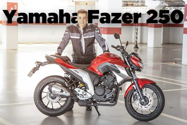 Yamaha Fazer 250 (Foto: Marcos Camargo / Autoesporte)