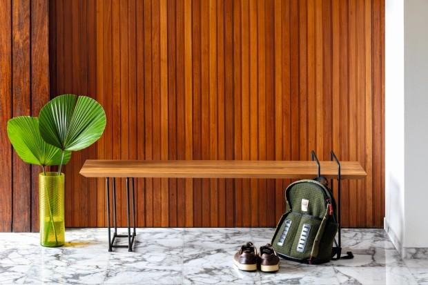 Reformada, casa dos anos 1960 reverencia arquitetura modernista (Foto: Fran Parente)