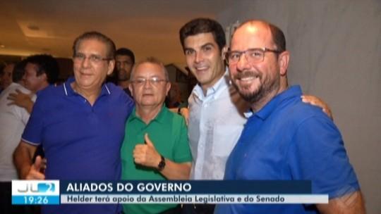 Helder Barbalho já tem apoio de mais da metade dos deputados eleitos para a Assembleia Legislativa