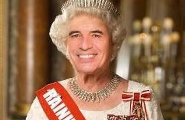 Meme de Paulo Betti feito por Dadá Coelho (Foto: Arquivo pessoal)