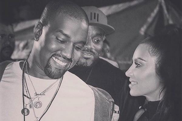 O rapper Kanye West e a socialite Kim Kardashian (Foto: Instagram)