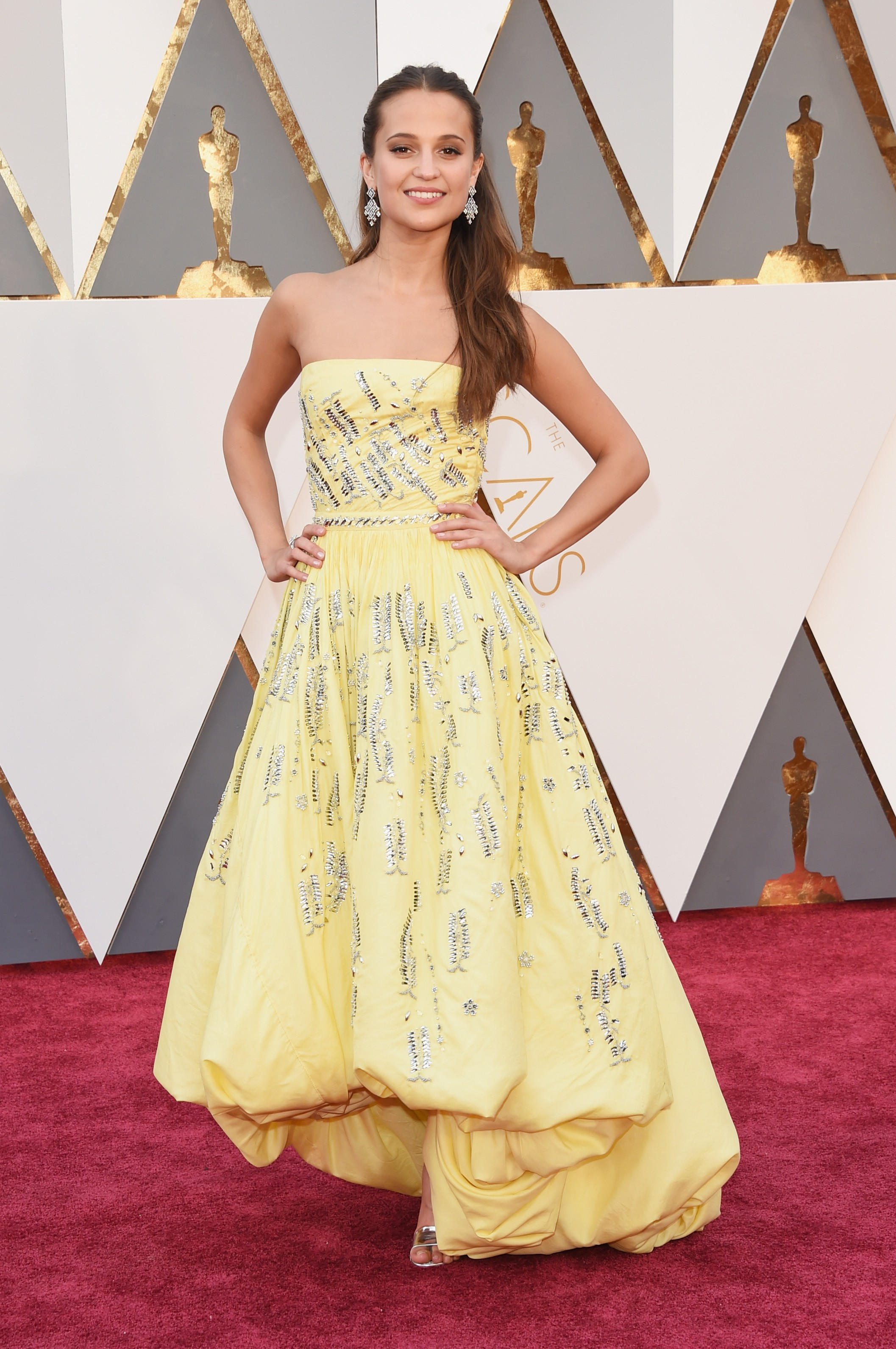 Alicia Vikander (grande) (Foto: Getty Images)