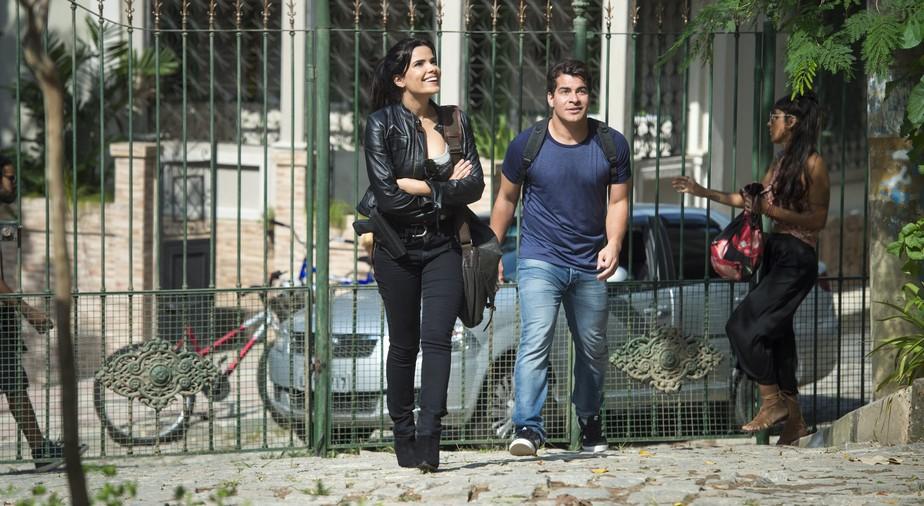 Vanessa Giácomo e Thiago Martins vivem romance conturbado em 'Pega Pega'