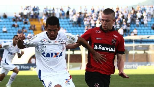 Confira os gols do empate entre Avaí e Brasil de Pelotas