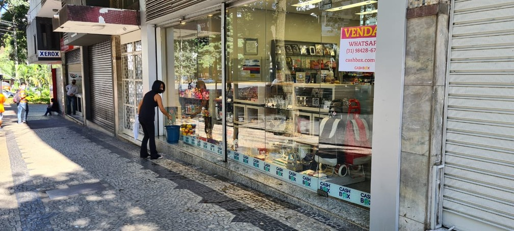 Comércio de BH pode funcionar no dia 7 de setembro — Foto: Vladimir Vilaça/TV Globo