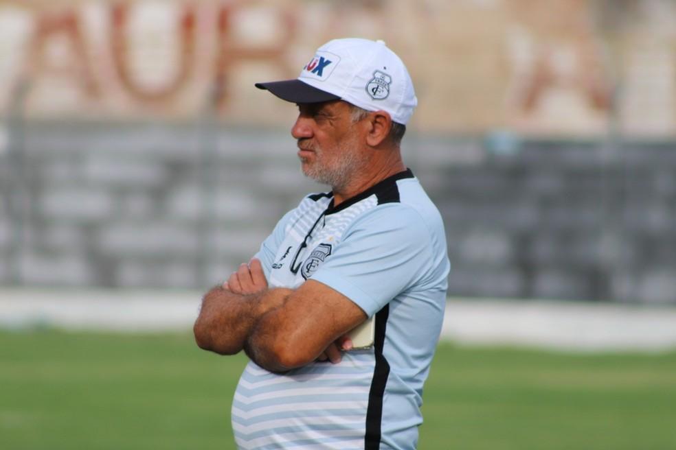 Celso Teixeira saiu do clube na bronca com os dirigentes do Galo — Foto: Fábio Oliveira / Treze