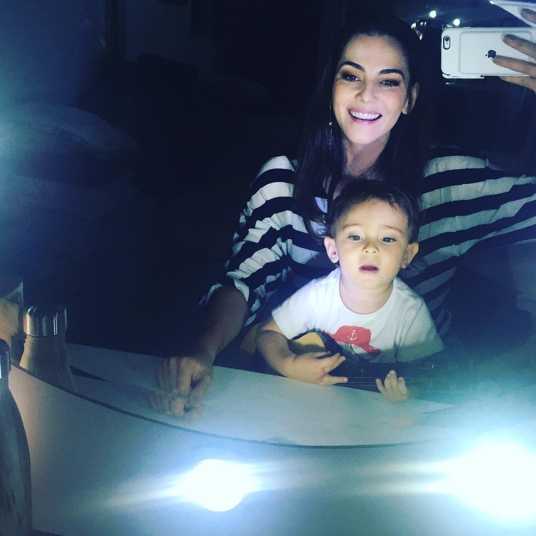 Tainá Muller com filho (Foto: Reprodução/Instagram)