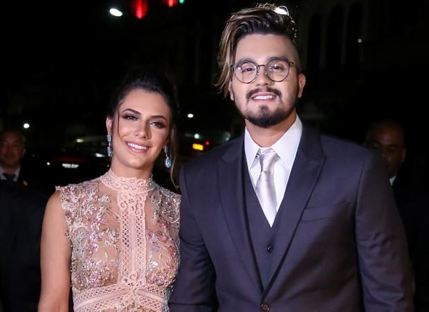 Jade Magalhães e Luan Santana (Foto: Manuela Scarpa/Brazil News)