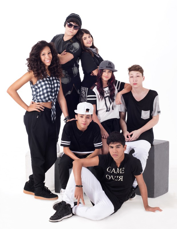 Parte do elenco de 'Chiquititas' formou o grupo pop 7Teen (Foto: Juliana Sabbatini)