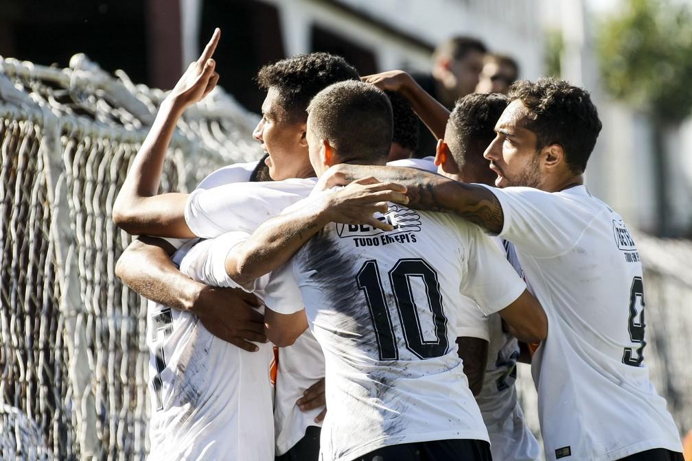 Elenco do sub-23 do Corinthians em ação  — Foto: Rodrigo Gazzanel/Ag. Corinthians