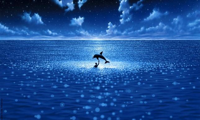 """Imagem do cartaz do filme """"Imensidão Azul"""", de Luc Besson"""