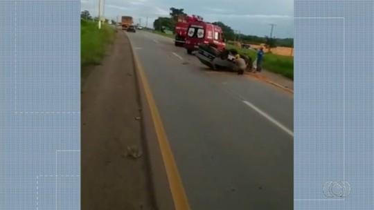 Motorista morre em acidente na GO-080, em Nerópolis