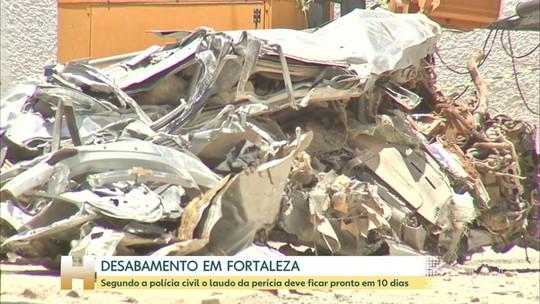 Perícia no Edifício Andrea, em Fortaleza, deve entregar relatório em 10 dias