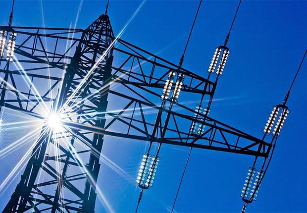Torre de transmissão de energia elétrica (Foto: Divulgação)
