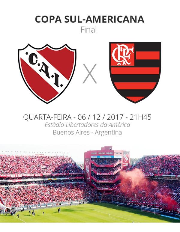 Final da Sul-Americana: tudo sobre o primeiro duelo entre Fla e Independiente