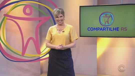 Assista aos vídeos do Compartilhe RS deste domingo (28)