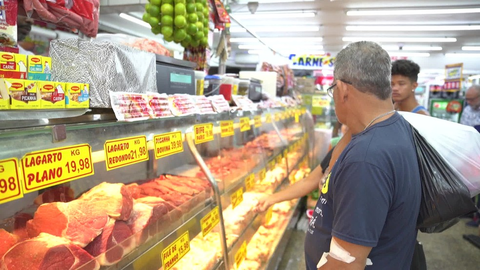 Contrafilé apresentou a maior variação de preços, segundo a pesquisa — Foto: Reprodução/TV Globo