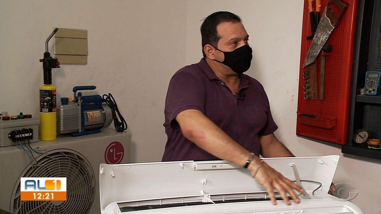 Técnico Nilton Gomes dá dicas para o bom funcionamento do ar-condicionado