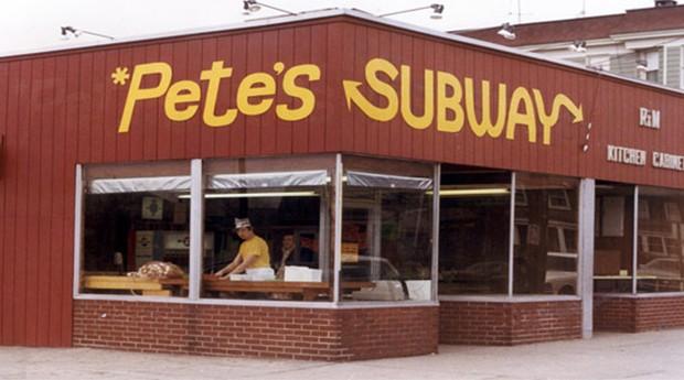 O Subway na verdade tinha como nome Pete's Super Submarines (Foto: Divulgação)