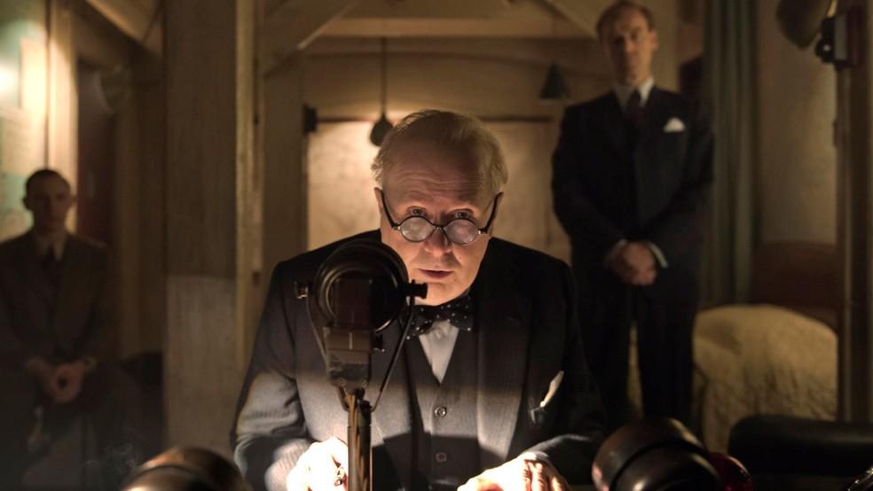 Gary Oldman ganhou Oscar de Melhor Ator por O Destino de Uma Nação — Foto: Divulgação/Netflix