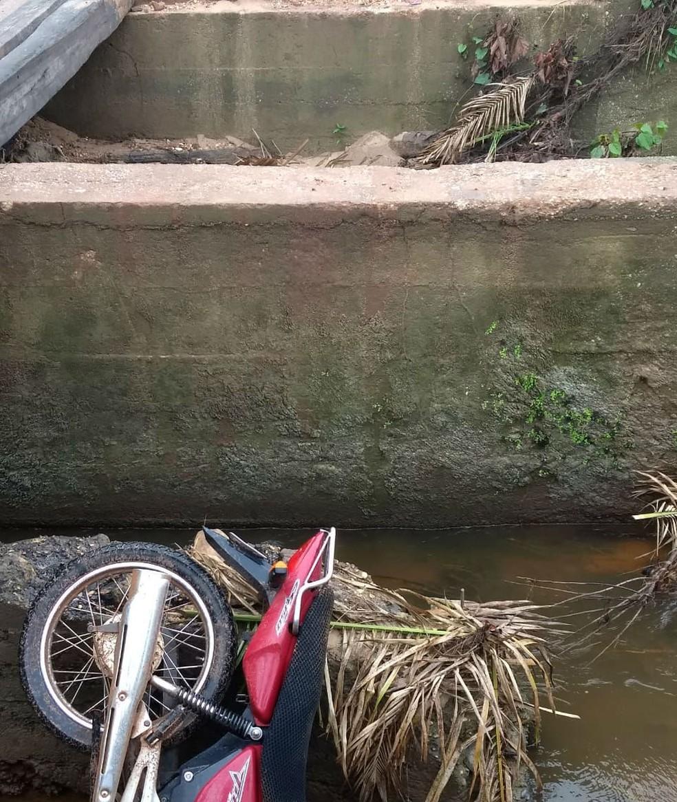 Acidente aconteceu em povoado de Axixá do Tocantins — Foto: Folha do Bico/Divulgação
