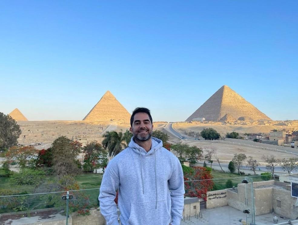 Médico de Porto Alegre Victor Sorrentino foi detido no Egito — Foto: Redes sociais