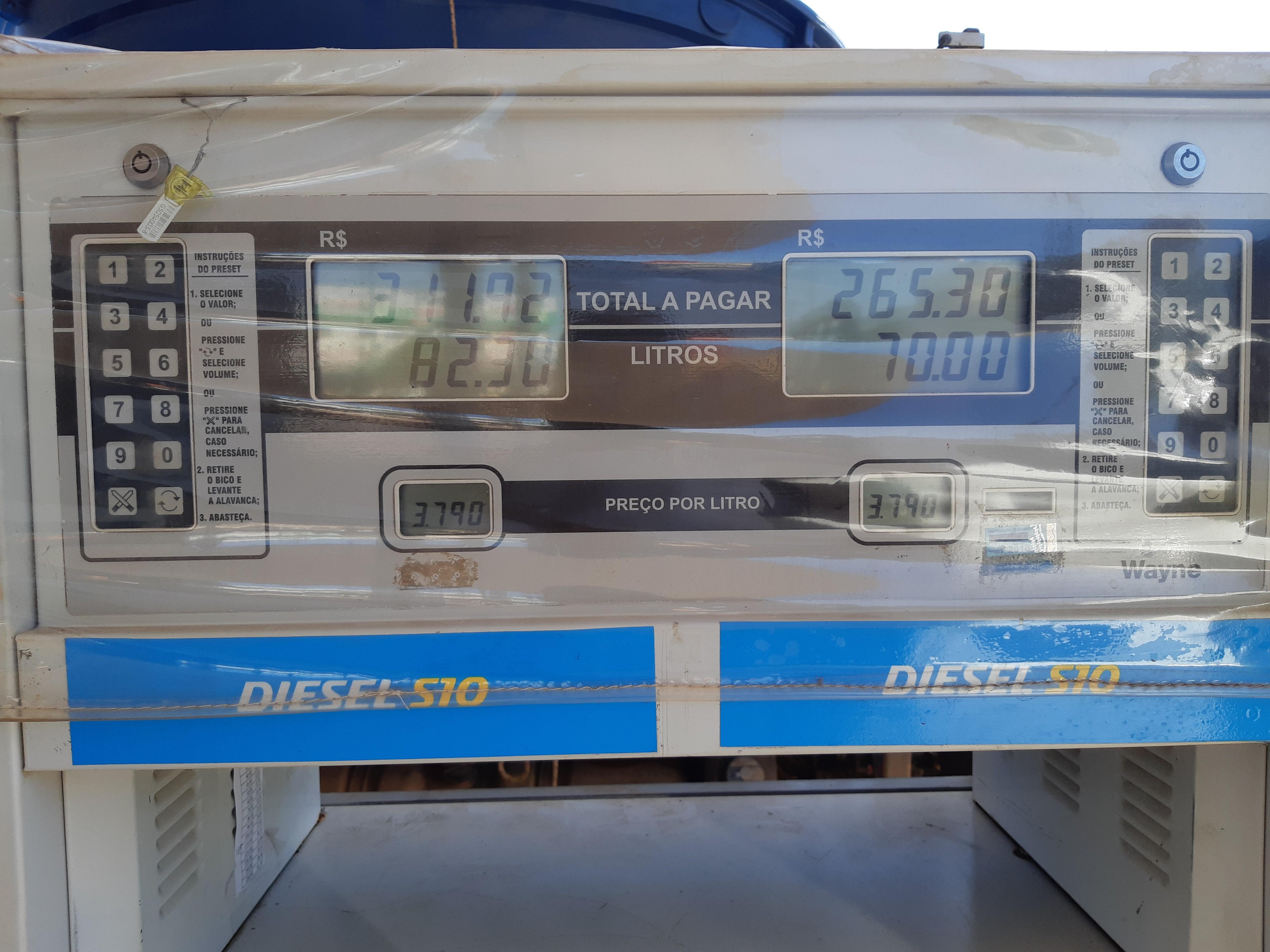 Dois meses após greve de  caminhoneiros, desconto de R$ 0,46 no diesel não chegou a todos postos de Porto Velho