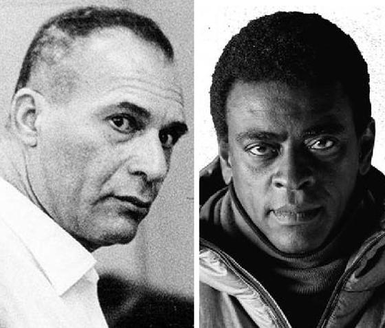 O militante radical Carlos Marighella (à esq.) será interpretado por Seu Jorge no cinema. O colorismo está em debate nas artes (Foto: Reprodução)
