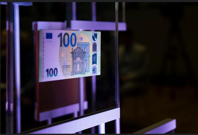 Nova nota de 100 euros (Foto: Divulgação/BCE)