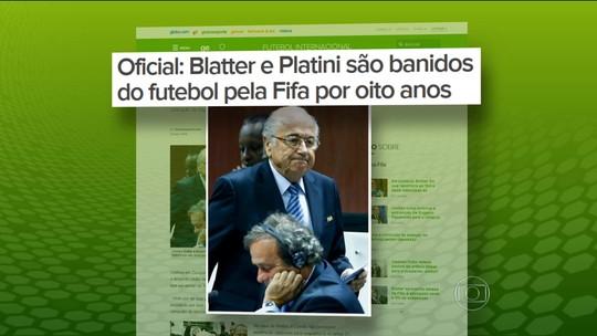 Suspenso do futebol, Blatter diz que irá à Copa da Rússia a convite de Putin